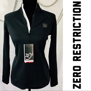 Zero Restriction 1/4 Zip Pullover- New With Tags!